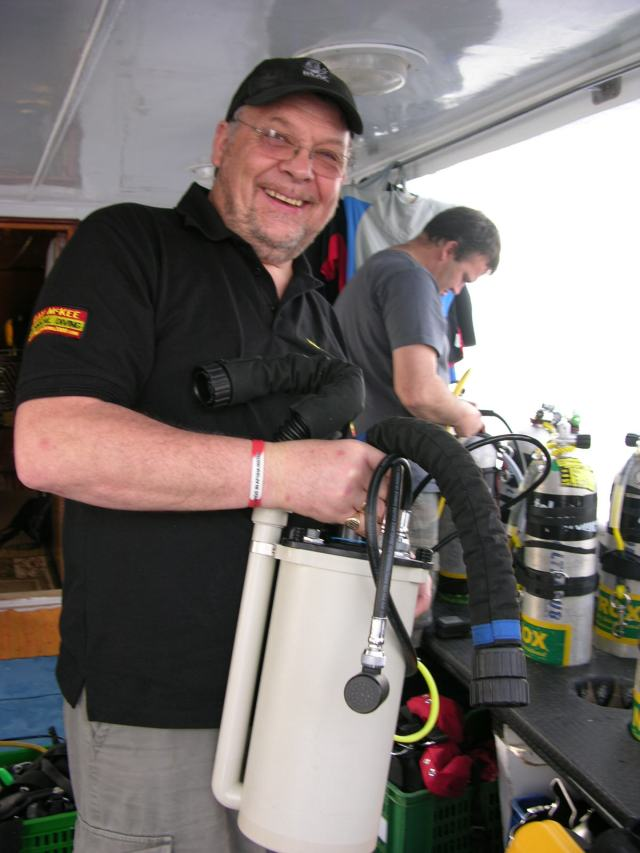 BSAC Technical Instructor Raymond McKee