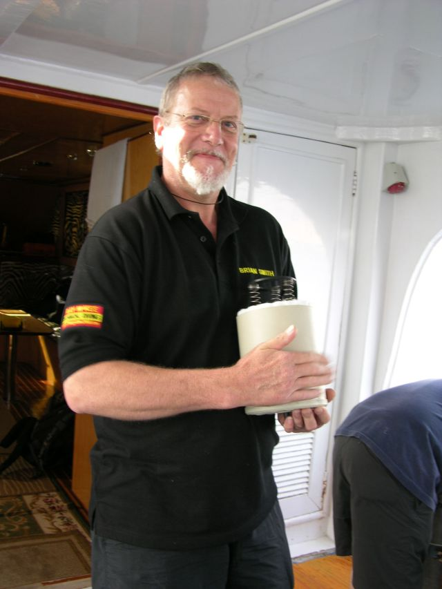 BSAC Technical Instructor Brian Smith